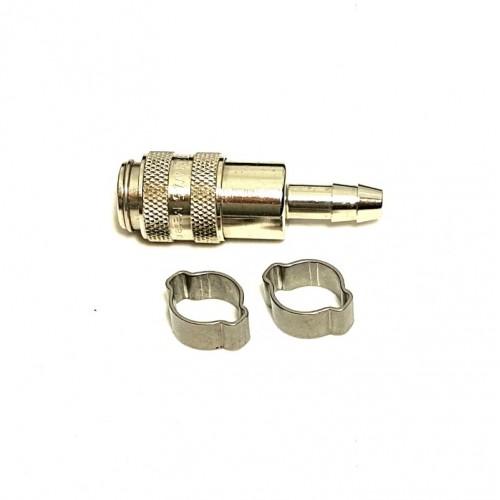 Złączka US (foster) 6mm + obejmy