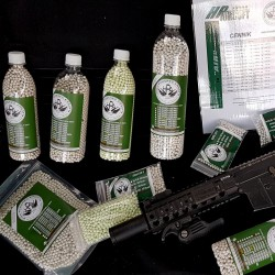 HPA 0.40g BB`S - BEST HEAVY SNIPER BIO BB`S ON THE WORLD - 500pcs.