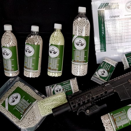 HPA 0.45g BB`S - BEST HEAVY SNIPER BIO BB`S ON THE WORLD - 500pcs.